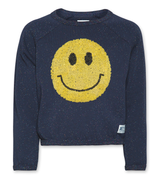 C-neck Sweater Smiley
