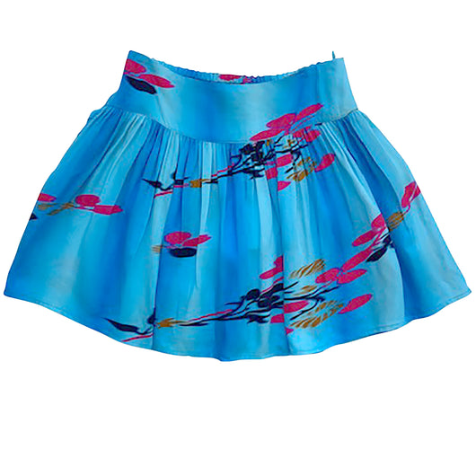 Holly Blue Woven Skirt