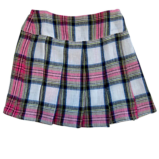 Holly Check Woven Skirt