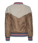 Shearling Bomber Brown