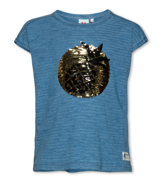 T-shirt Pineapple Denim Blue