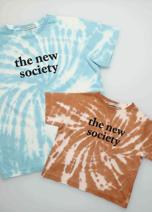 The New Society Tee - Caramel