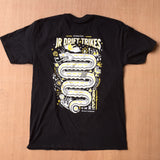 JR Snake Road Black T-Shirt