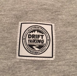 Drift TriKING Grey Logo T-Shirt