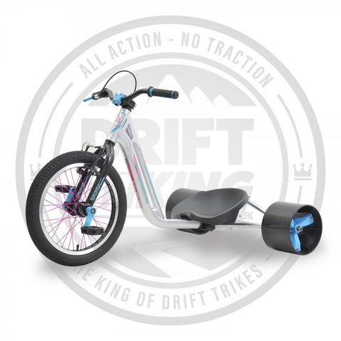 COUNTER MEASURE 2 DRIFT TRIKE SILVER/TEAL
