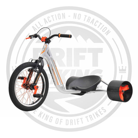 COUNTER MEASURE 2 DRIFT TRIKE SILVER/ORANGE