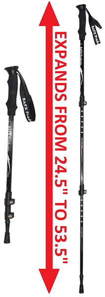 BAFX Products Carbon Fiber Hiking Poles