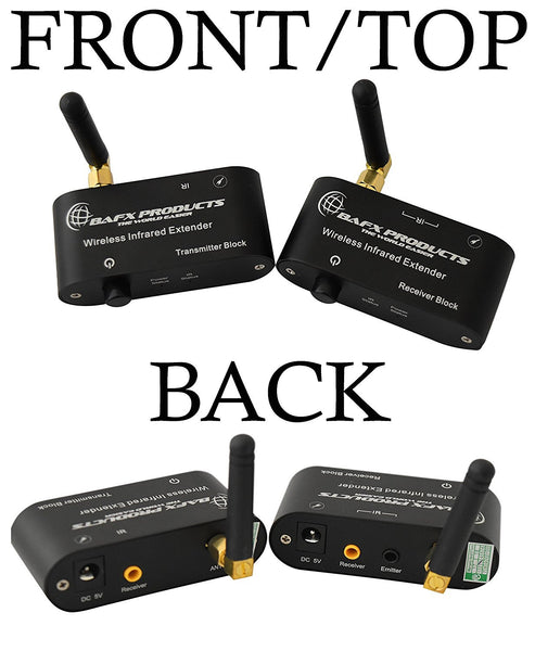 Wireless IR Repeater / Remote Control Extender Kit