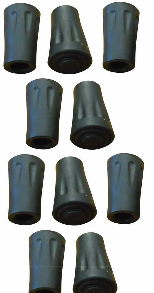 Pack of 10 - Hiking Pole Replacement Tips - For BAFX Products Hiking Poles