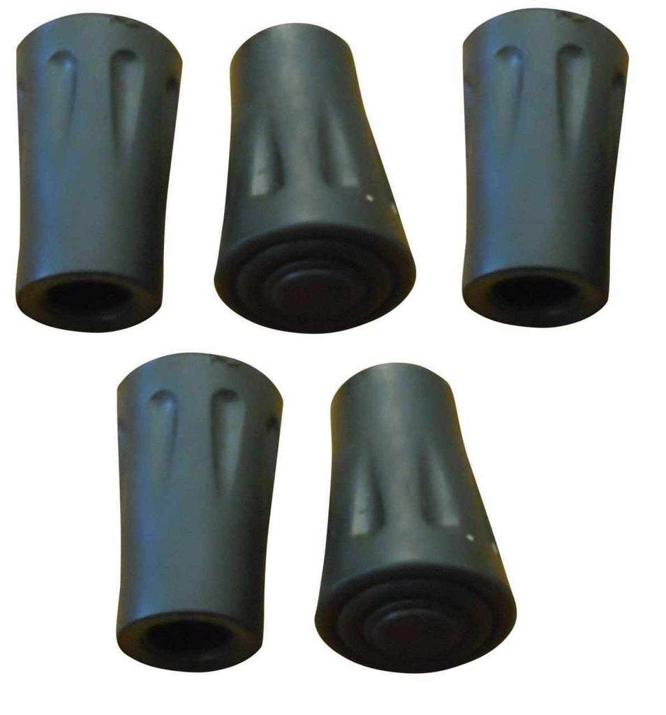 Pack of 5 - Hiking Pole Replacement Tips - For BAFX Products Hiking Poles