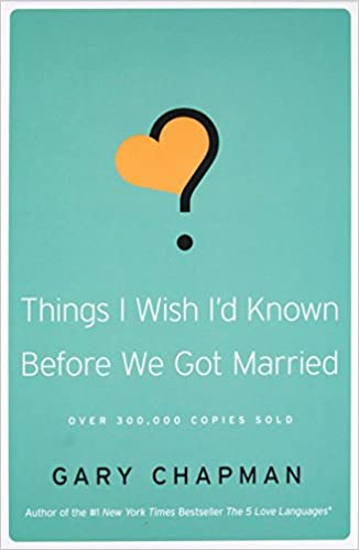 Things I wish I´d known before we got married