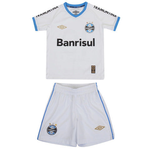 KIT INFANTIL GRÊMIO AWAY 2015