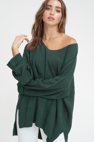 Can't Stop The Feeling Sweater Green