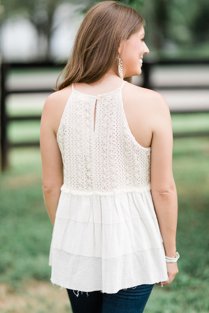 Addie Belle Crochet Top