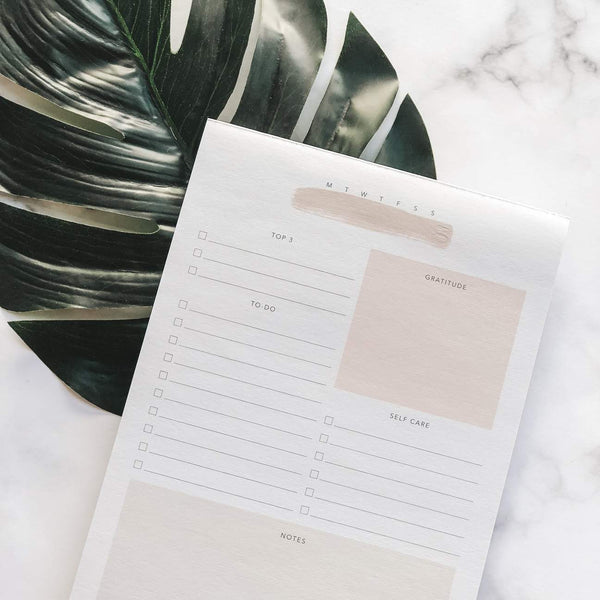 Nourish Daily Notepad