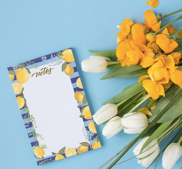 Lemon Notes Notepad