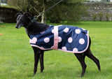 Pink Spotty Dog Coat