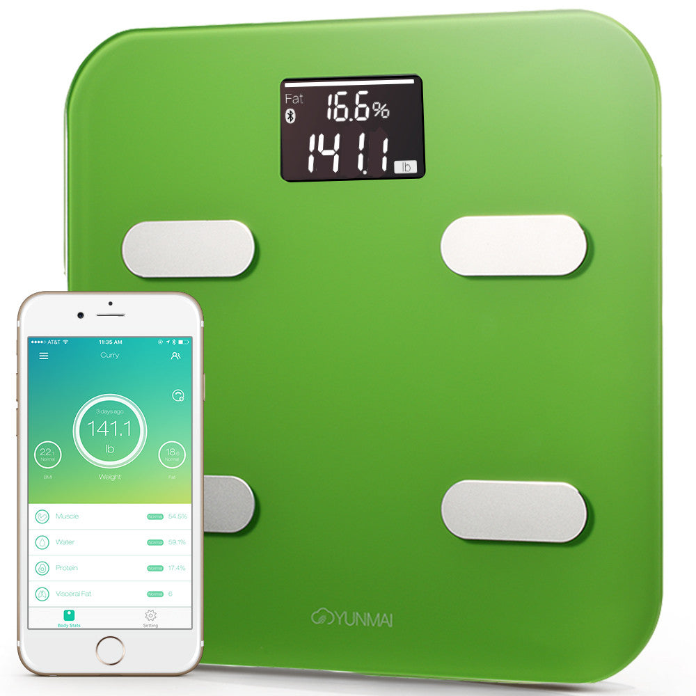 Yunmai Color Bluetooth Smart Scale - Green