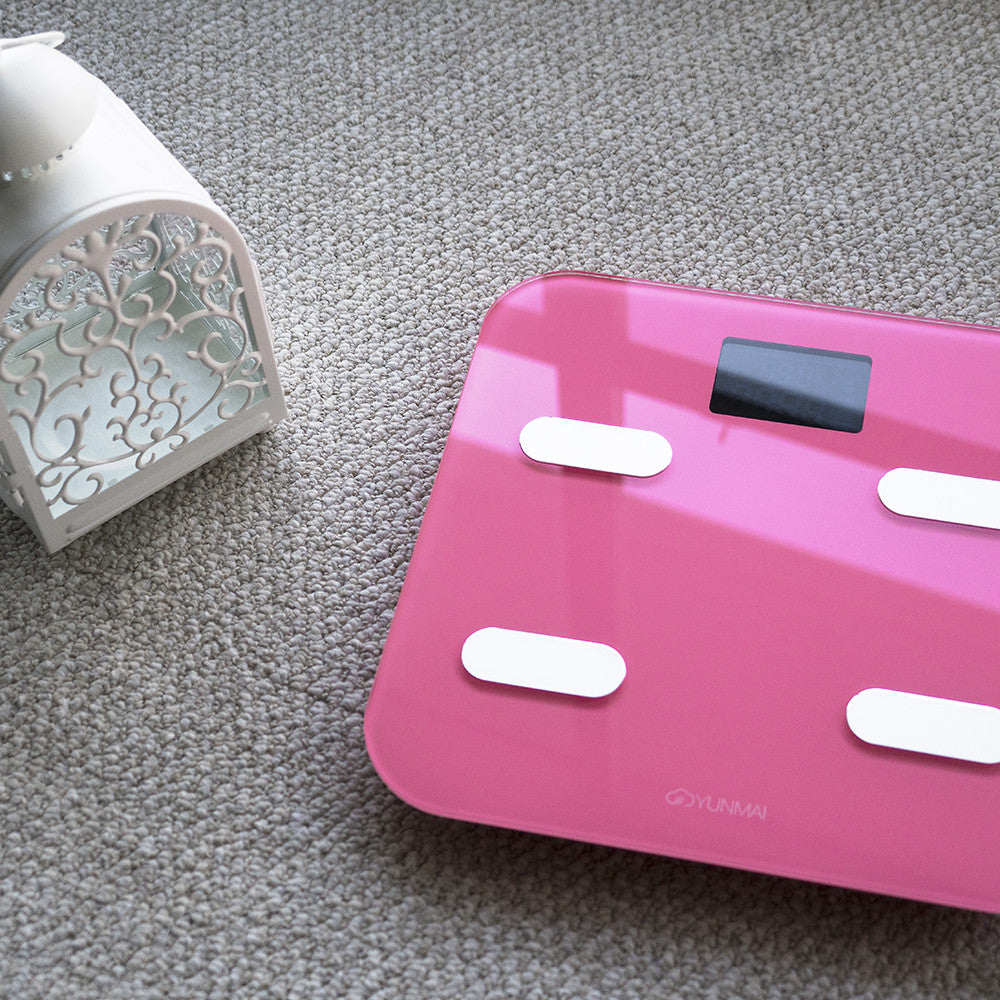 Yunmai Color Bluetooth Smart Scale - Pink