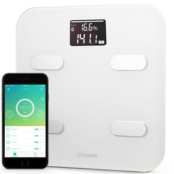 Yunmai Color Bluetooth Smart Scale - White