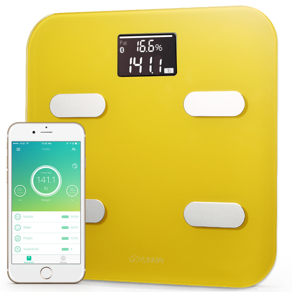 Yunmai Color Bluetooth Smart Scale - Yellow