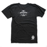 Butcher and the Rye Tee - Charcoal Grey, Back