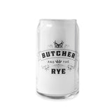 Butcher and the Rye – Beer Glass