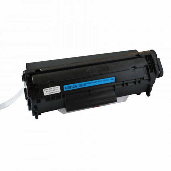 HP Q2612A /Canon CRG104/FX9/FX10 Toner Cartridge Black (12A) New Compatible