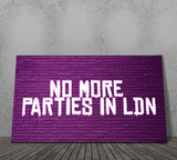 NO MORE PARTIES IN...