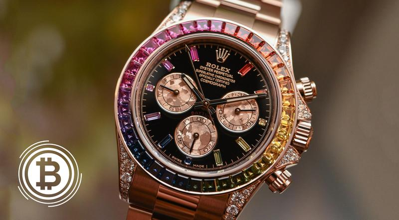 Introducing The Original Rolex Edition: Rainbow Daytona In Everose Gold.