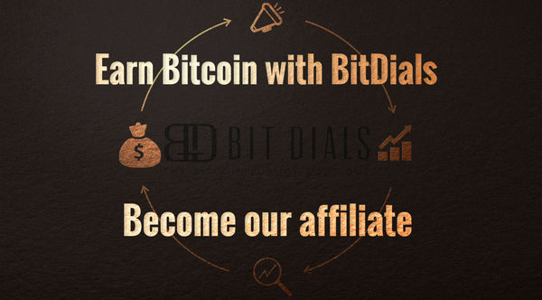 Great Affiliate Commissions and Offers from BitDials. Earn big with our affiliate program!