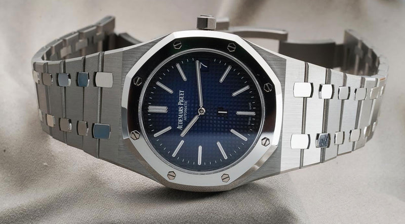 The Audemars Piguet Royal Oak 'Jumbo' Extra-Thin In Titanium And Platinum