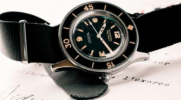 Legendary watches: famous models with a great history. Blancpain.