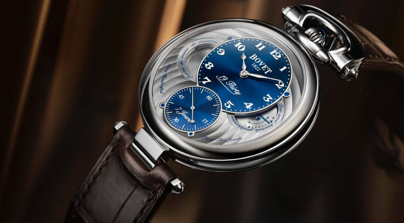 Bovet 1822. Swiss Handcrafted.
