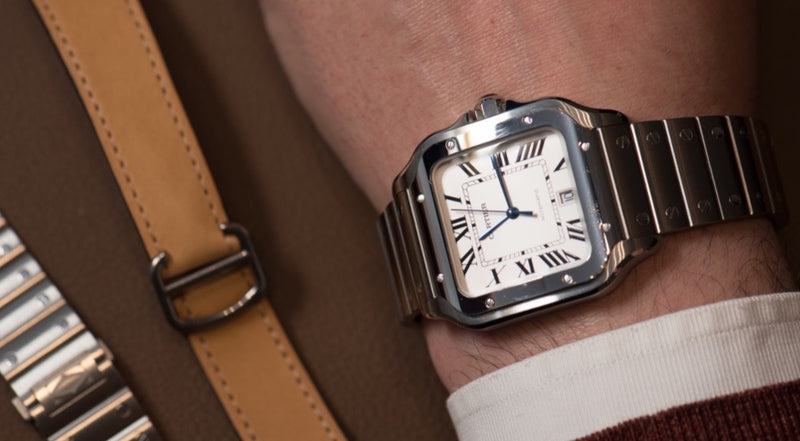 The Cartier Santos Collection