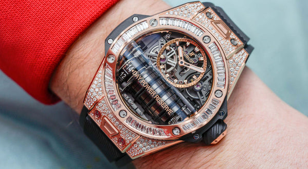 Hands-On: Hublot Big Bang MP-11 Power Reserve 14 Days King Gold Jewellery Watch