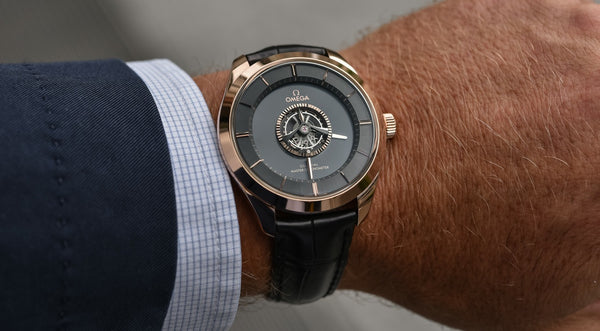 Introducing: Omega De Ville Tourbillon Master Chronometer.