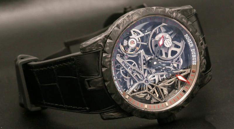 Roger Dubuis Excalibur Automatic Skeleton Carbon.