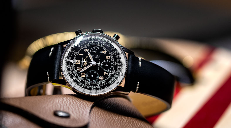 An early Navitimer flies again. The Breitling Navitimer Re-Edition.
