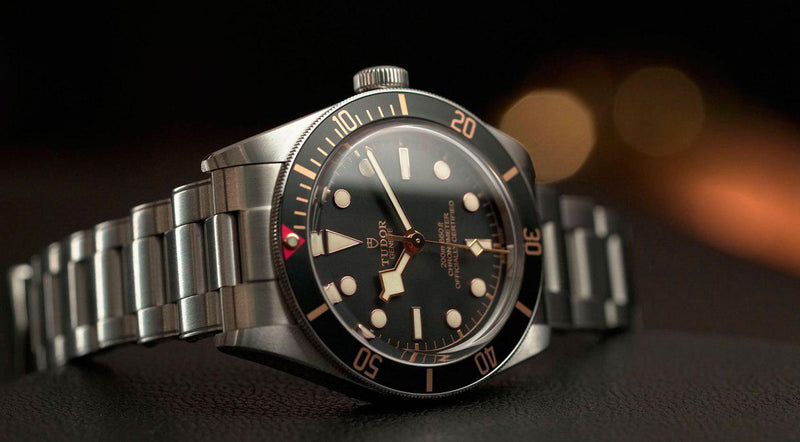 Innovative and relevant. Tudor watches
