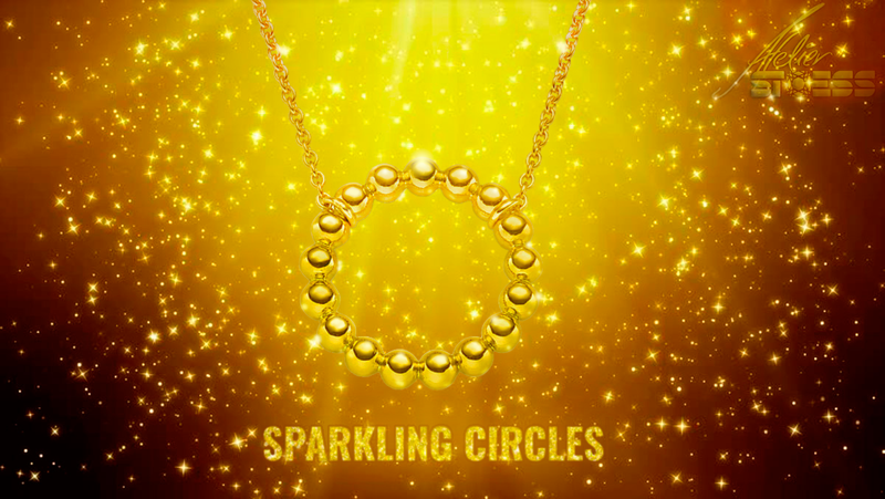 Sparkling Circles from Stoess on BitDials!