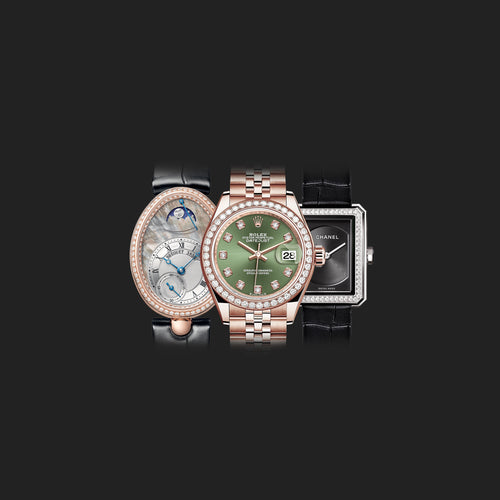 LADIES' WATCHES with bitcoin (BTC), Monero (XMR), Ethereum (ETH), DOGE, LTC, DCR on BitDials