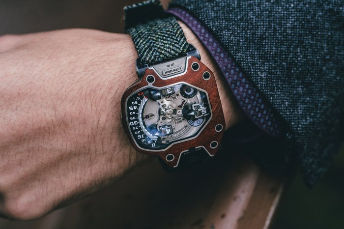 Urwerk 110 on BitDials