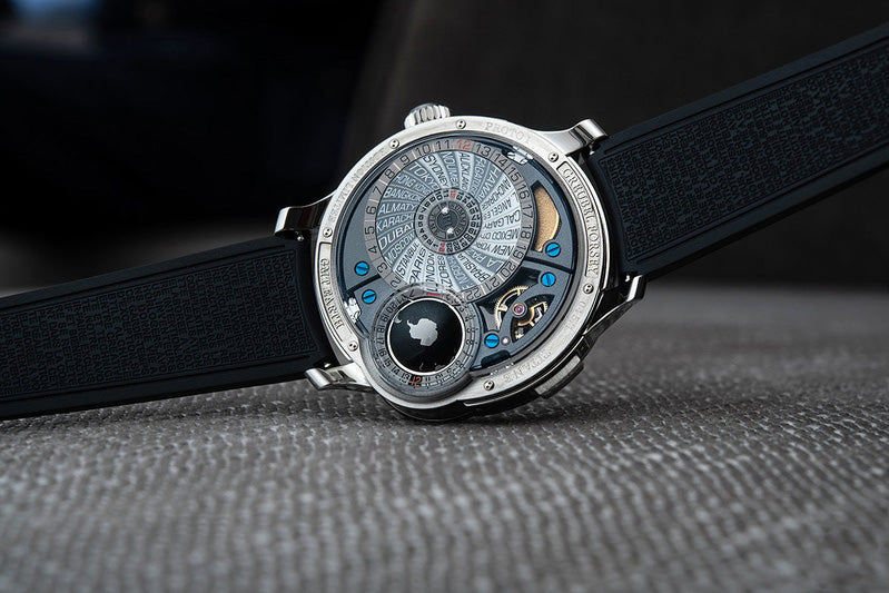 Buy Greubel Forsey watch with Bitcoin
