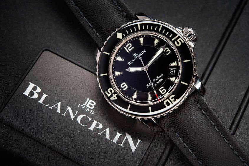 Blancpain Fifty Fathoms on BitDials
