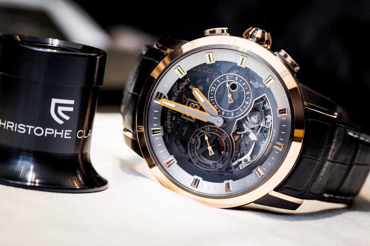 CHRISTOPHE CLARET ALLEGRO with Bitcoin on BitDials