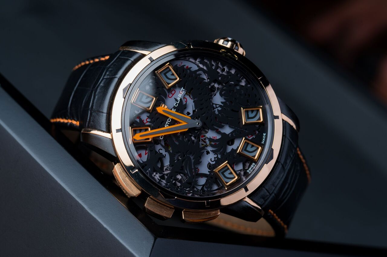 CHRISTOPHE CLARET BACCARA with crypto on BitDials