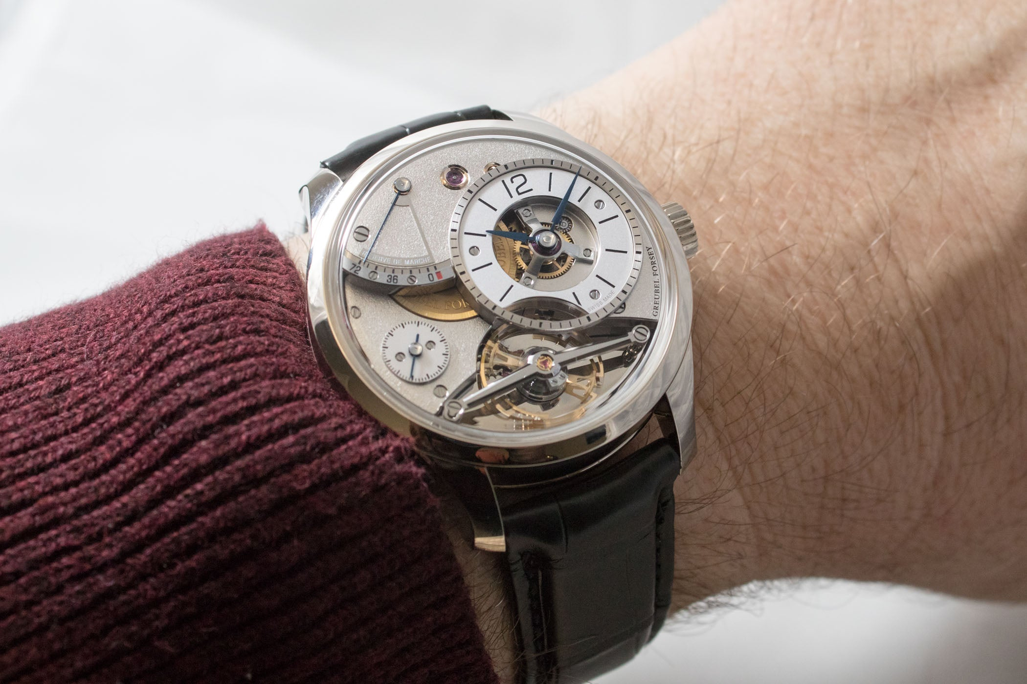 Buy Greubel Forsey watches with Bitcoin on BitDials