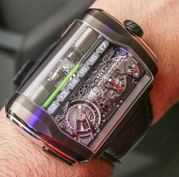 Buy HYT watches with crypto on BitDials