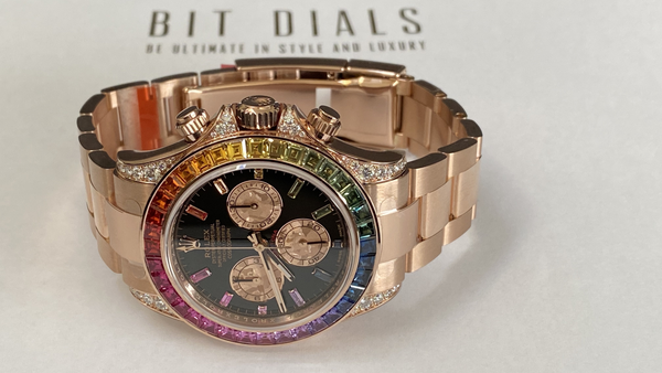 Buy Rolex watches with Bitcoin on BitDials